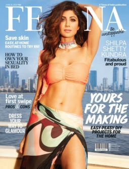 Shilpa Shetty On The Covers Of Femina