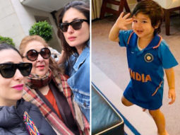 INDIA vs PAKISTAN: Taimur Ali Khan makes cute appearance in Team India jersey, mom Kareena Kapoor Khan & aunt Karisma Kapoor cheer for the team
