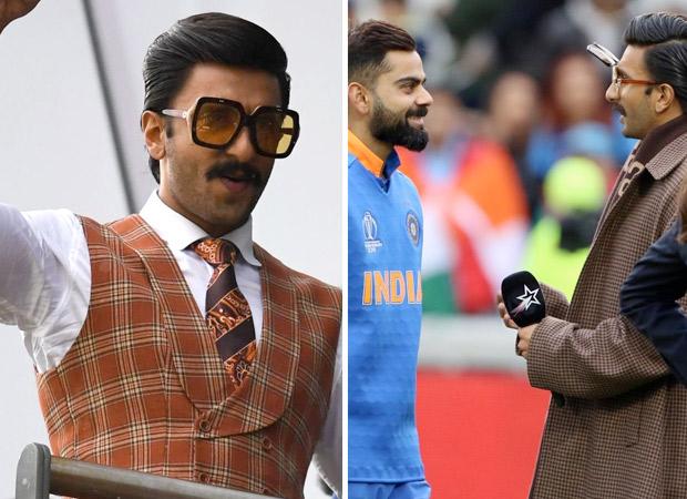 India Vs Pakistan: Ranveer Singh becomes commentator, hugs Virat Kohli post match win