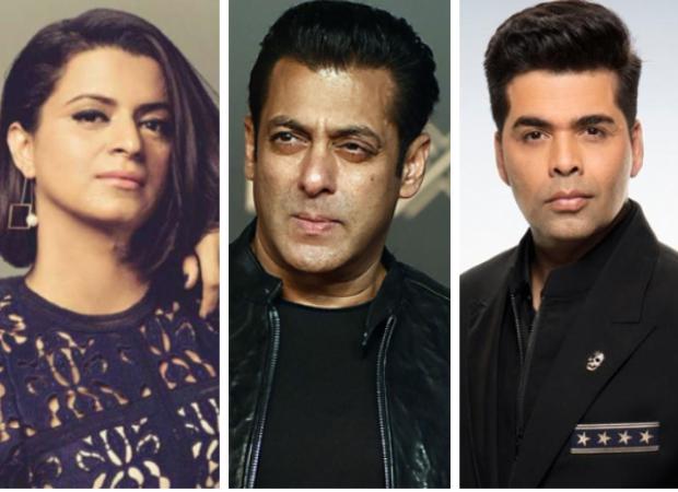 Kangana Ranaut's sister Rangoli Chandel takes a dig at Salman Khan and Karan Johar