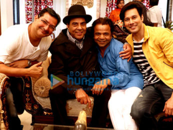 On The Sets From The Movie Khalli Balli
