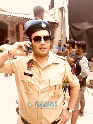 On The Sets from the movie Khandaani Shafakhana