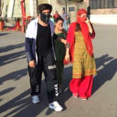 LEAKED PHOTOS & VIDEOS: Sara Ali Khan and Kartik Aaryan hide their faces while shooting in Shimla