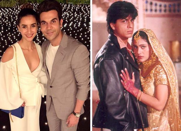 Rajkummar Rao and Patralekha just recreated the Shah Rukh Khan - Kajol scene from DDLJ and its winning hearts