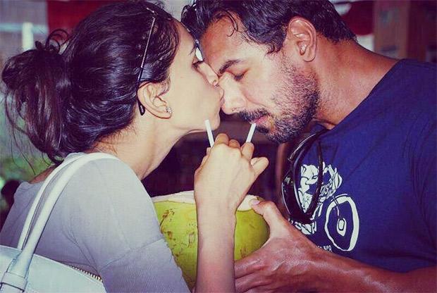 PHOTO: John Abraham gets a sweet kiss from wife Priya Runchal in this romantic wedding anniversary post