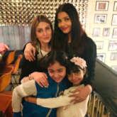 PHOTOS: Aishwarya Rai Bachchan, Abhishek Bachchan, Aaradhya Bachchan spend quality time with Ranbir Kapoor's sister Riddhima Kapoor Sahni and family in New York