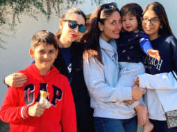 PHOTOS: Karisma Kapoor and her kids Samaira and Kiaan Raj join Kareena Kapoor Khan and Taimur All Khan in London