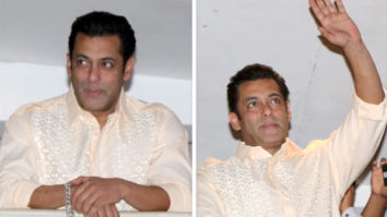 PHOTOS & VIDEOS: Salman Khan and his parents Salma Khan and Salim Khan greet the fans on Eid