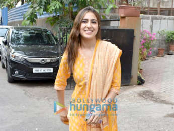 Photo: Sara Ali Khan snapped at Aanand L Rai's office in Andheri