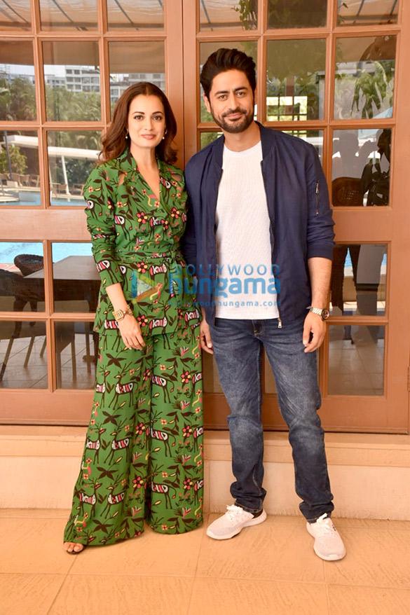 Photos Dia Mirza and Mohit Raina snapped promoting their web series Kaafir (5)