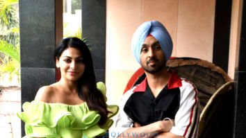Photos: Diljit Dosanjh and Neeru Bajwa snapped promoting their Punjabi film 'Shadaa'