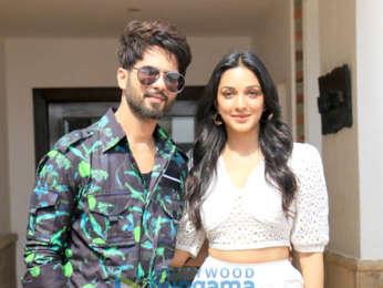 Photos: Shahid Kapoor and Kiara Advani snapped promoting their film Kabir Singh