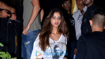 Photos: Suhana Khan spotted at Arth in Bandra
