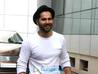 Photos: Varun Dhawan spotted at House of Dance