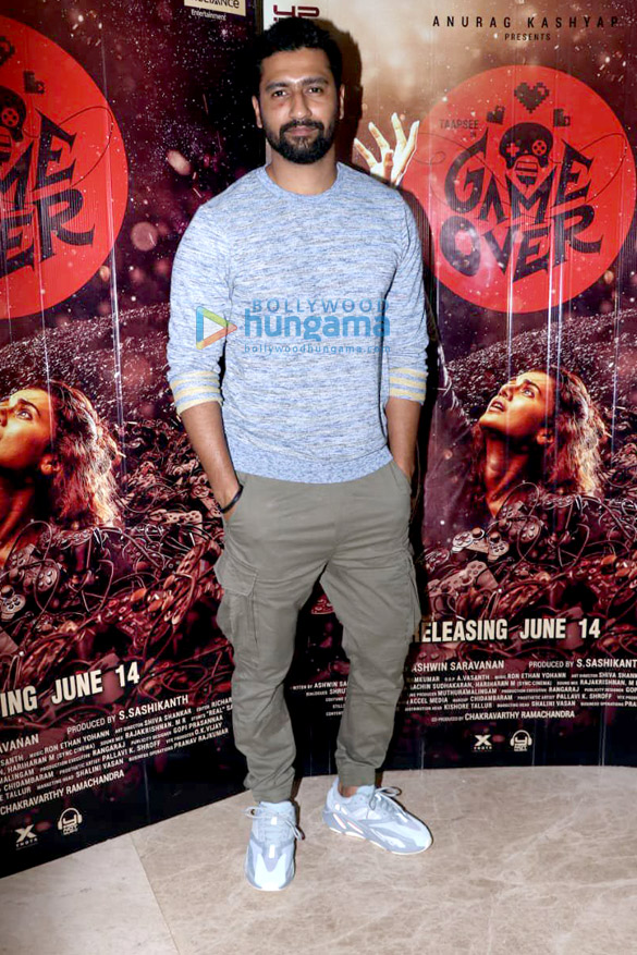 Photos Vicky Kaushal and Gulshan Devaiah grace the special screening of 'Game Over' (1)