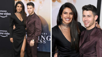 Priyanka Chopra sizzles in racy dress, joins Nick Jonas at Chasing Happiness premiere