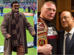 Ranveer Singh gets legal notice from WWE Wrestler Brock Lesnar's advocate Paul Heyman