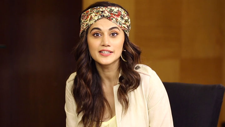 "Taapsee Pannu ""Actors Are Not 100% Normal..."" Game Over South Films"