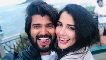 This photo of Vijay Deverakonda making goofy faces with Brazilian actress Izabelle Leite is going viral