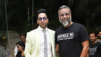 WATCH Ayushmann Khurrana and Anubhav Sinha promoting their film Article 15