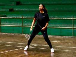 WATCH: Parineeti Chopra shares a glimpse of her intense training on badminton court for Saina Nehwal biopic