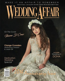 Ileana D'Cruz on the cover of Wedding Affair, Jun-Jul 2019