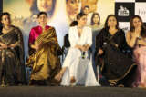 Akshay Kumar, Vidya Balan, Taapsee Pannu and Nithya Menon grace the trailer launch of their film Mission Mangal Part 02