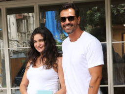 And it's a baby boy for Arjun Rampal and Gabriella Demetriades
