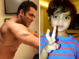 CUTENESS OVERLOAD Salman Khan recreates the 'bean-bag moment' with nephews Ahil and Yohan