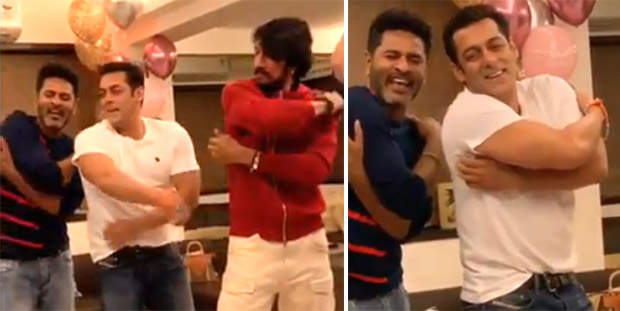 Dabangg 3: Salman Khan, Kiccha Sudeep, Prabhu Dheva dancing to 'Urvashi' will drive away your midweek blues