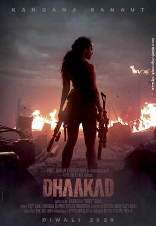 First Look Of Dhaakad