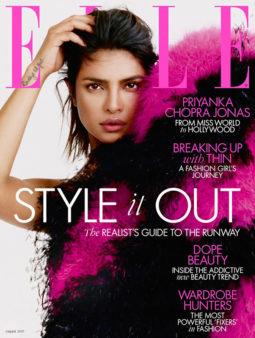 Priyanka Chopra On The Cover Elle