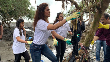 Esha Gupta does her bit to help better the environment and it is all sorts of admirable