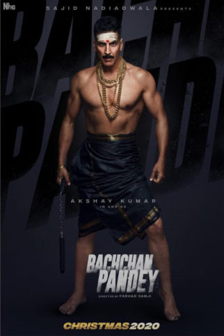 FIRST LOOK: Akshay Kumar set for yet another interesting role in Sajid Nadiadwala's Bachchan Pandey
