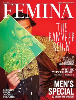 Ranveer Singh On The Cover Of Femina