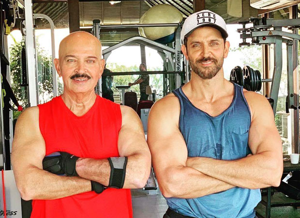 Hrithik Roshan reveals he shed tears with his father Rakesh Roshan after the latter's cancer diagnosis