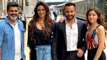Jawaani Jaaneman: Tabu wraps up her reunion film with Hum Saath Saath Hain co-star Saif Ali Khan