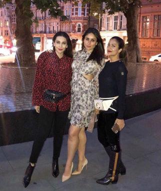 Kareena Kapoor Khan, Karisma Kapoor and Amrita Arora have a girls night in London