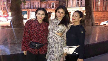 Kareena Kapoor Khan, Karisma Kapoor and Amrita Arora have a girls night in London