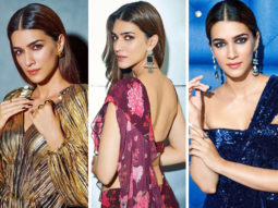 Kriti Sanon looks her fashionable best for Arjun Patiala promotions and we're in couture heaven!