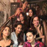 Malaika Arora and Karisma Kapoor are all smiles as they party with their girl gang