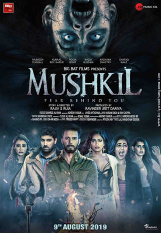 First Look Of The Movie Mushkil - Fear Behind You