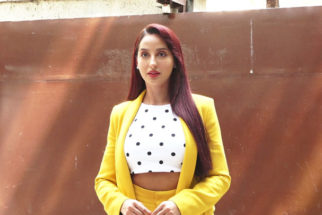 Nora Fatehi spotted at T-Series office Andheri