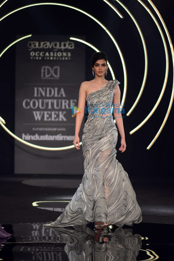 Photos Daina Penty walks the ramp for Gaurav Gupta at India Couture Week 2019 (1)