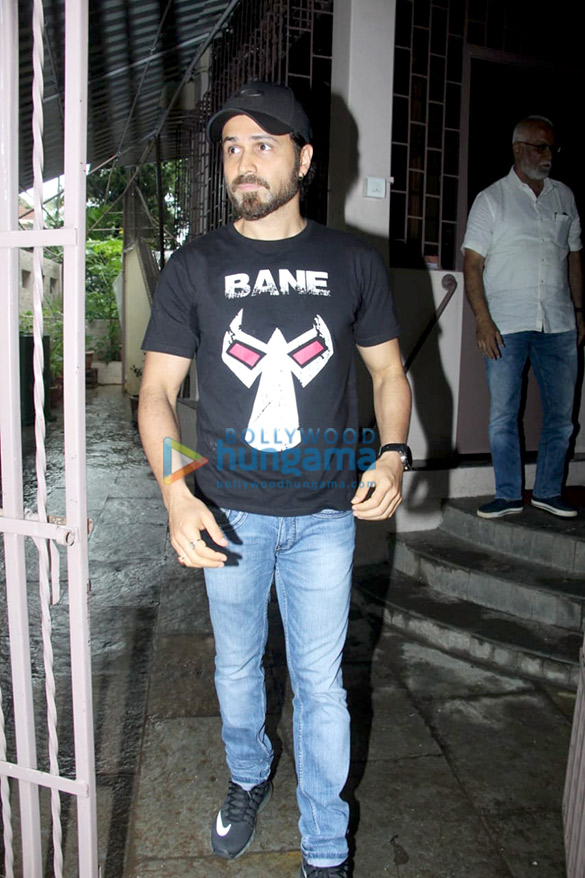 Photos: Emraan Hashmi spotted at Shankar Mahadevan's studio in Bandra