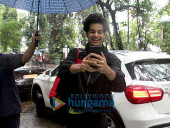 Photos: Ishaan Khatter snapped at the gym in Bandra
