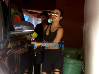 Photos: Malaika Arora spotted at the gym