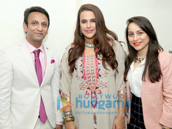 Photos: Neha Dhupia graces the launch of the Assure Clinic in Ahmedabad