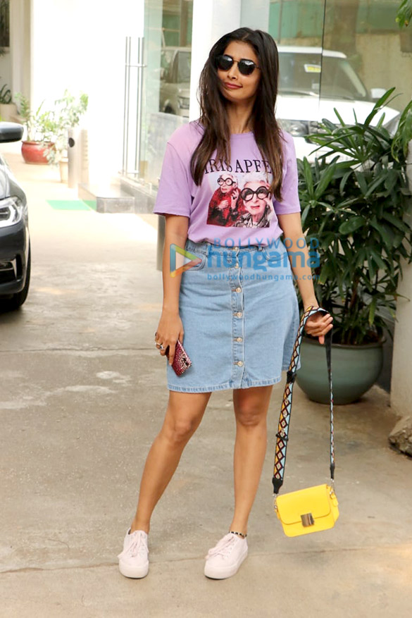 Photos: Pooja Hegde spotted at Sunny Super Sound in Juhu