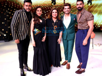 Photos: Sidharth Malhotra, Parineeti Chopra, Madhuri Dixit and others snapped promoting Jabariya Jodi on sets of Dance Deewane